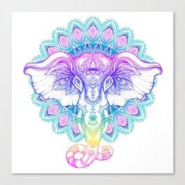 ELEPHANT--Color Canvas Print