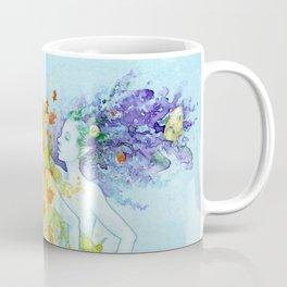 Three Mermaids Coffee Mug