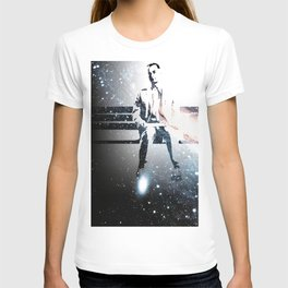 FORREST ON A BENCH & COSMOS T-shirt