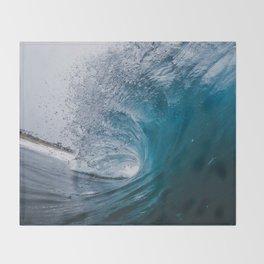 Great Surf Throw Blanket