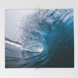 Great Surf Throw Blanket