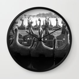 Where the Dragons Rest Wall Clock