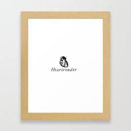 Heartrender Framed Art Print