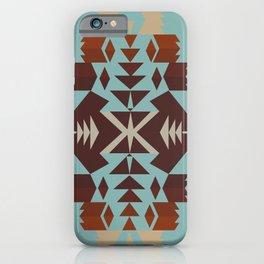 American Native Pattern No. 290 iPhone Case
