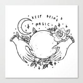 Keep Being Magic Canvas Print