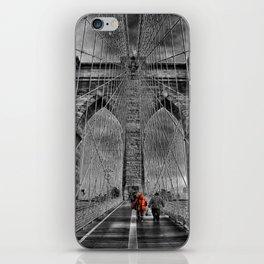Bridge kid iPhone Skin
