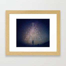 Alchemical Tetractys Framed Art Print