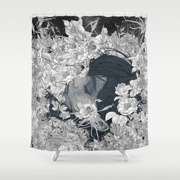 Feeling you Shower Curtain