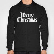 Merry Christmas White Christmas Version Hoody