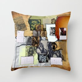 The Sketchbook Throw Pillow