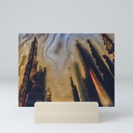 Scorched Earth Agate Mini Art Print