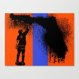 Florida Tagger  Canvas Print