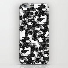 just penguins black white iPhone & iPod Skin