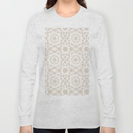 Palm Springs Macrame Lattice Lace Long Sleeve T-shirt