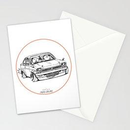 Crazy Car Art 0189 Stationery Cards