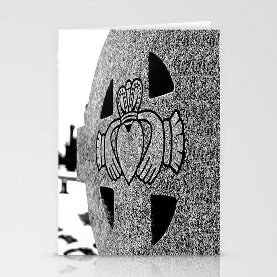Winter Claddagh Stationery Cards