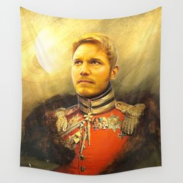 Starlord Guardians Of The Galaxy General Portrait Painting | Fan Art Wall Tapestry