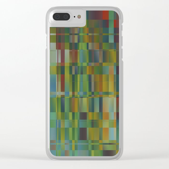 Abstract 319 Clear iPhone Case