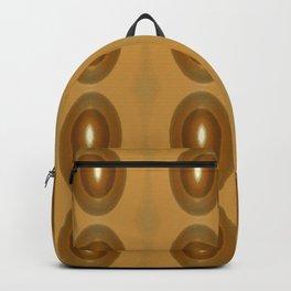 Contemplation Golden Yellow Japan Minimalism Backpack