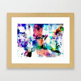 The manifest world v 1 Framed Art Print