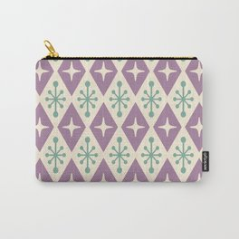 Mid Century Modern Atomic Triangle Pattern 103 Carry-All Pouch