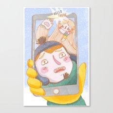 Ieti Selfie Canvas Print