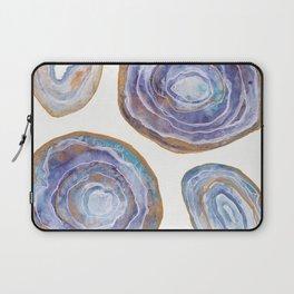 Watercolor Agates - Magic Palette Laptop Sleeve