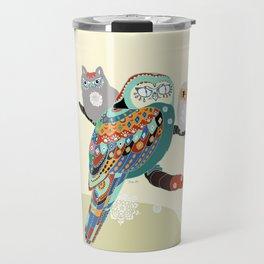 Owly friends Travel Mug