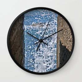 BLUE AQUATIC DREAMS Wall Clock