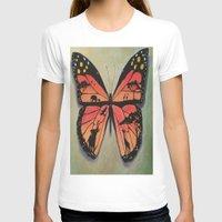 safari T-shirts featuring Butterfly safari by Art by Maricruz