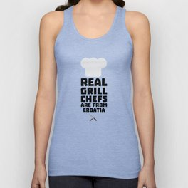Real Grill Chefs are from Croatia T-Shirt Dt141 Unisex Tank Top