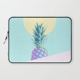 Tropical Pineapple Sunkissed #decor #popart #minimalist Laptop Sleeve
