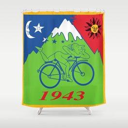 LSD 1943 - Hoffman Trip Shower Curtain