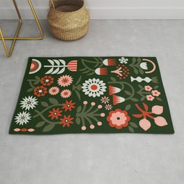 Winter Wrap: Green Rug