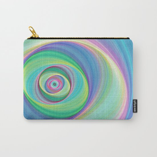 Asymmetric circles around the circle Carry-All Pouch