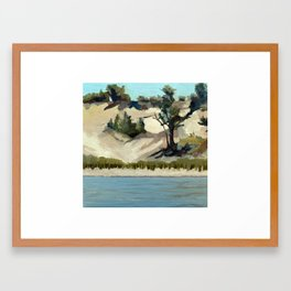 Dunes Framed Art Print