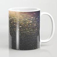 sparkle Mugs featuring Sparkle by Jane Lacey Smith