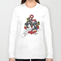 rebel Long Sleeve T-shirts featuring Rebel! by Double Trouble