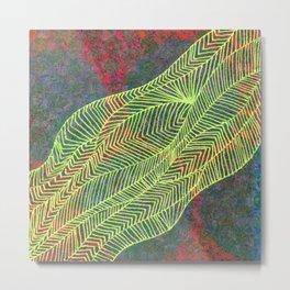 Linear No. 5 Metal Print