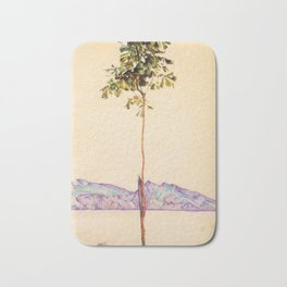 Egon Schiele - Little tree (new editing) Bath Mat