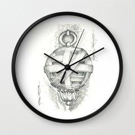 armillary sphere. esfera armilar Wall Clock