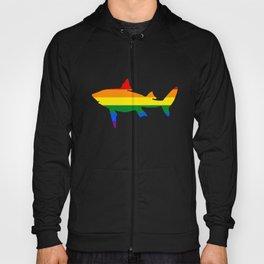 Rainbow Shark Hoody