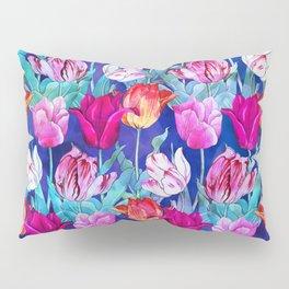 Tulips field Pillow Sham