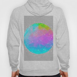 The Dots Will Somehow Connect (Geometric Sphere) Hoody