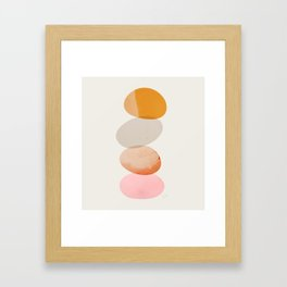 Abstraction_Balances_005 Framed Art Print