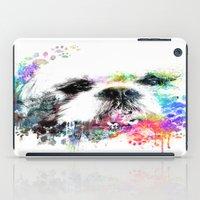shih tzu iPad Cases featuring Shih TZU  by PhotosbySN