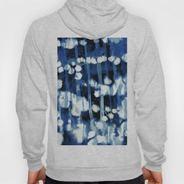 Blue Cotton Dots Hoody