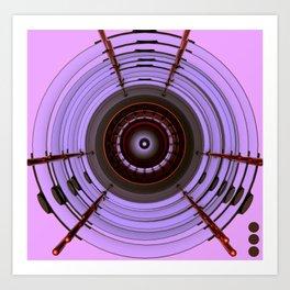 WHEELS OF STEEL Art Print