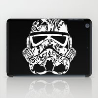 wrestling iPad Cases featuring Trooper by eARTh