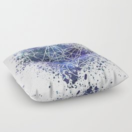 Metatron's Cube Floor Pillow